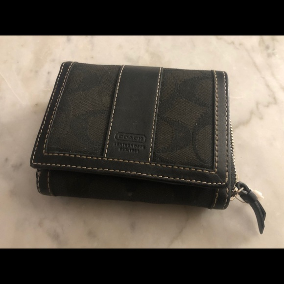 Coach Handbags - Coach black wallet